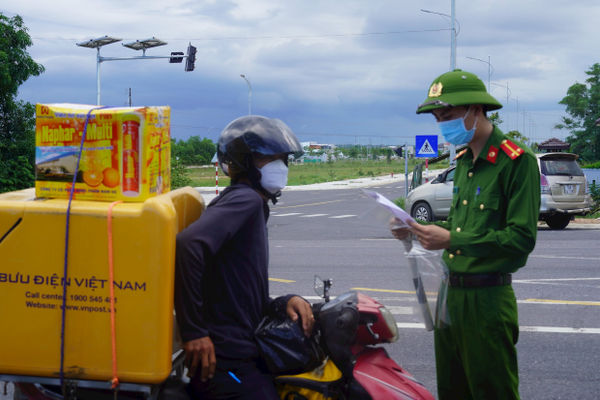 Quảng Trị: Khuyến cáo người dân hạn chế vào ra TP Đông Hà nếu không cần thiết