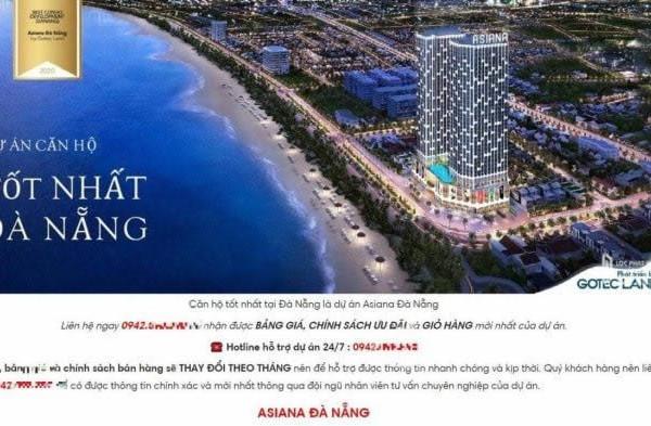 Đà Nẵng: Chưa đủ điều kiện kinh doanh, 2 dự án bất động sản đã quảng cáo rao bán