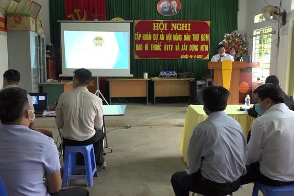 Hà Quảng (Cao Bằng): Hội Nông dân thu gom bao bì thuốc bảo vệ thực vật và xây dựng nông thôn mới