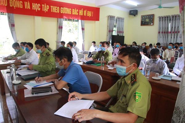 Yên Bái: Tập huấn cho đồng bào vùng cao trong công tác bảo vệ rừng