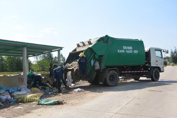 Xử lý chất thải rắn nông thôn ở Quảng Nam: Nhiều chuyển biến tích cực