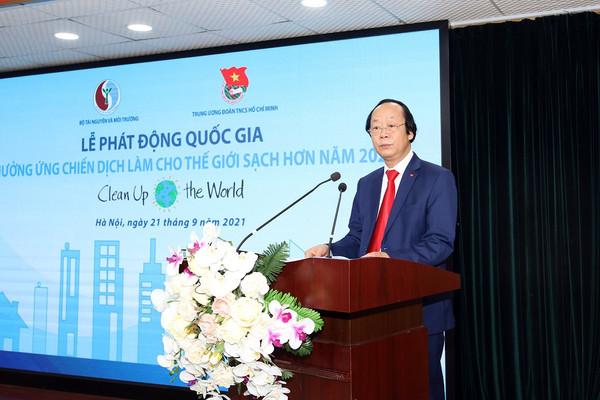 Lễ phát động quốc gia Hưởng ứng Chiến dịch Làm cho thế giới sạch hơn 2021