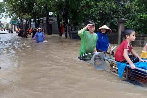 Thời tiết ngày 27/9, Bắc Trung Bộ tiếp tục mưa to
