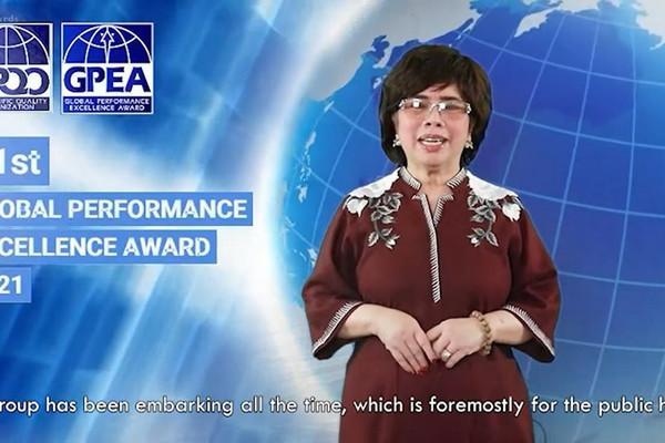 TH true MILK đạt Giải thưởng Chất lượng quốc tế Châu Á – Thái Bình Dương (GPEA) năm 2021