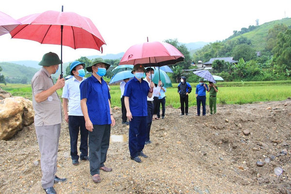 Sơn La kiểm tra hoạt động khai thác khoáng sản trái phép tại xã Mường Bám