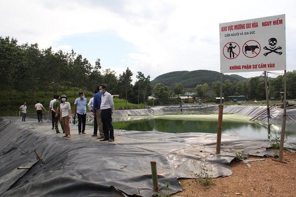 Sơn La: Kiểm tra công tác bảo vệ môi trường 2 cơ sở chế biến tinh bột sắn