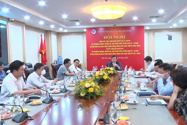 Bộ TN&MT tổng kết thực hiện Nghị quyết số 21-NQ/TW của Bộ Chính trị khóa IX