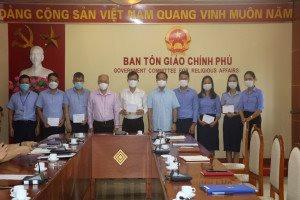 Thứ trưởng Vũ Chiến Thắng giao nhiệm vụ cho Tổ công tác của Bộ Nội vụ tại các tỉnh phía Nam