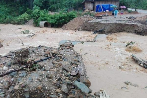 Nghệ An: Chủ động ứng phó với lũ quét, sạt lở đất tại khu vực miền núi