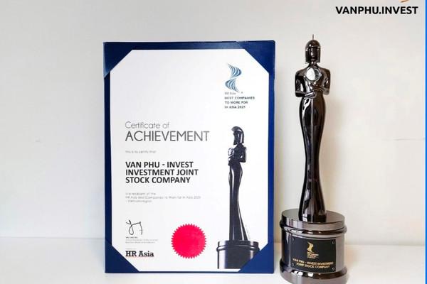 """Văn Phú – Invest được vinh danh giải thưởng """"Nơi làm việc tốt nhất Châu Á"""" ngay trong lần đầu tham dự"""