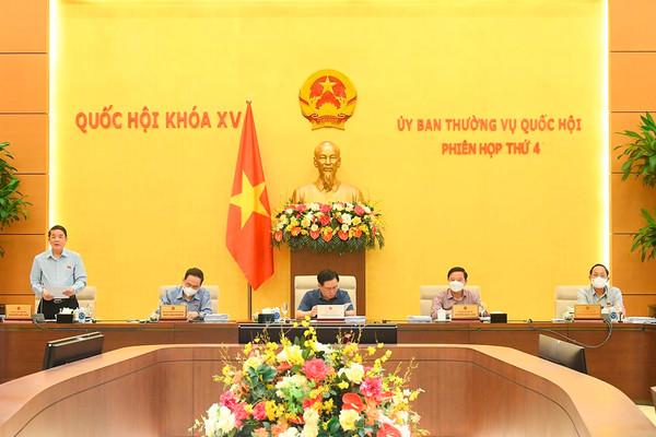 UBTVQH cho ý kiến về báo cáo kinh tế - xã hội, ngân sách nhà nước để trình Quốc hội tại Kỳ họp thứ 2