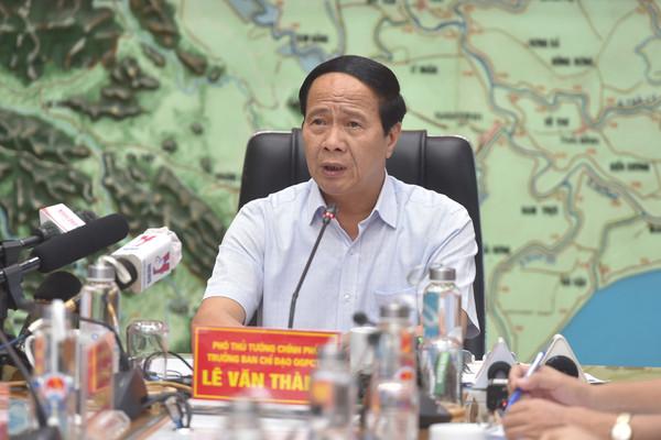 Phó Thủ tướng Lê Văn Thành: Tránh chủ quan dẫn tới thiệt hại, sự cố đáng tiếc