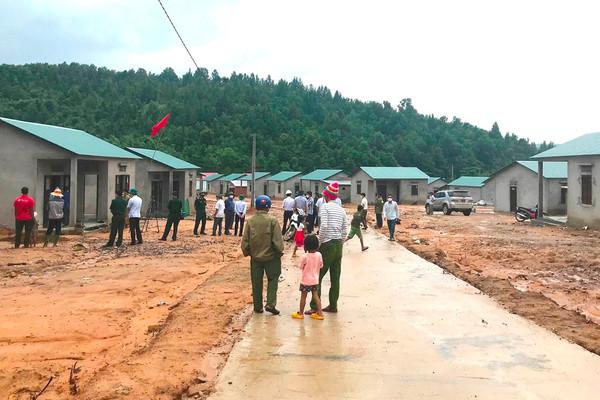 Quảng Trị: Di dời hàng nghìn nhân khẩu ở miền núi ra khỏi khu vực sạt lở