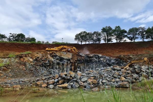Đắk Nông: Xử phạt 80 triệu đồng doanh nghiệp khai thác đá không đúng quy định