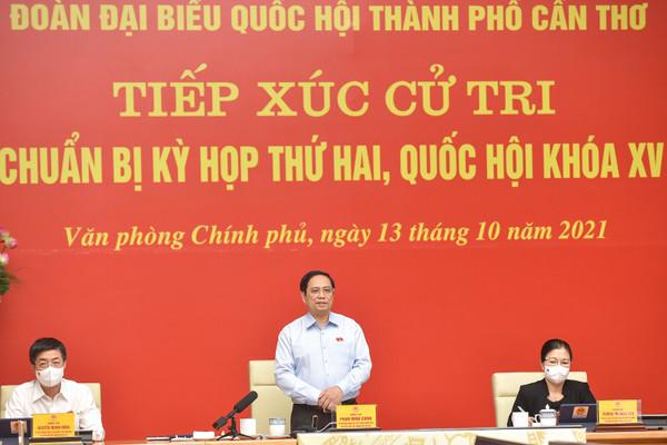 Thủ tướng Phạm Minh Chính: 88 triệu liều vaccine đã về tới Việt Nam