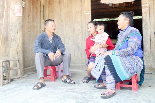 Lào Cai: Bí thư Chi bộ thôn gương mẫu hiến đất xây dựng NTM