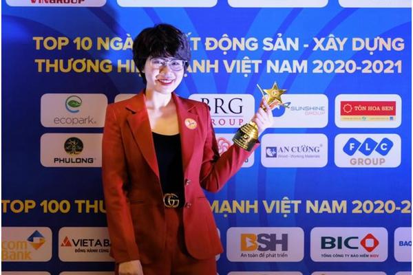 Sunshine Group được vinh danh trong TOP 10 Thương hiệu Mạnh Việt Nam ngành Bất động sản - Xây dựng
