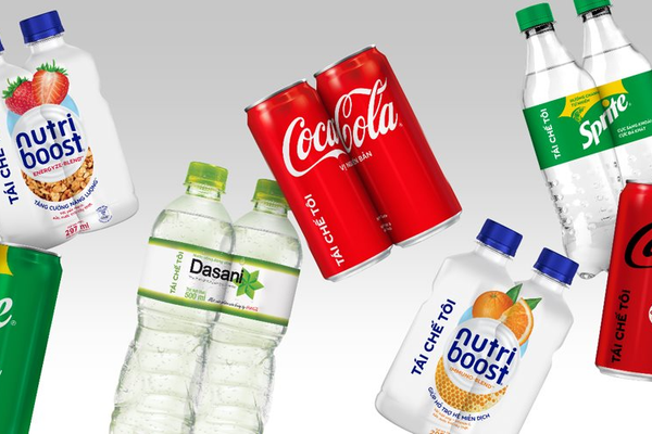"""Coca-Cola Việt Nam mang thông điệp """"Tái chế tôi"""" lên bao bì sản phẩm"""