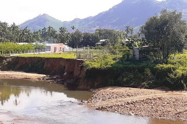 Hòa Vang (Đà Nẵng): Sạt lở đất canh tác, người dân hoang mang