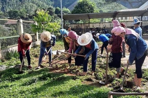 Mai Sơn (Sơn La): Nỗ lực thực hiện tiêu chí môi trường trong xây dựng NTM
