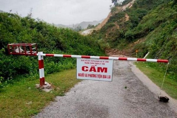 Quảng Trị: Mưa lớn kéo dài, nước sông dâng cao khiến 1 người mất tích