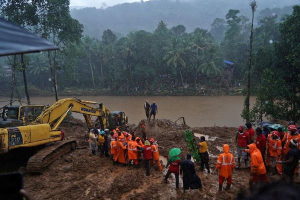 Lũ lụt ở miền nam Ấn Độ, ít nhất 22 người thiệt mạng