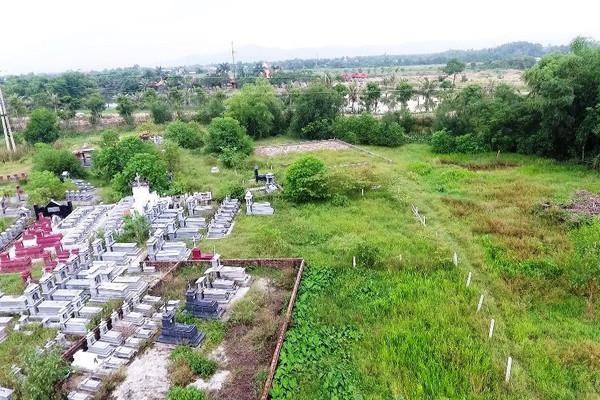 Hà Tĩnh: Cần chấm dứt việc tự ý cơi nới khu nghĩa trang Quan Ô
