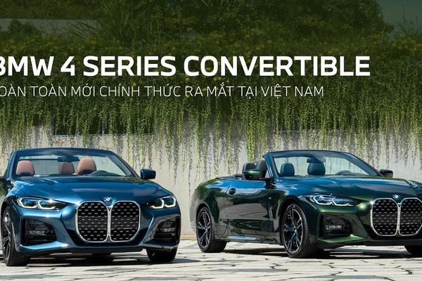 BMW 4 Series Convertible hoàn toàn mới chính thức ra mắt tại Việt Nam