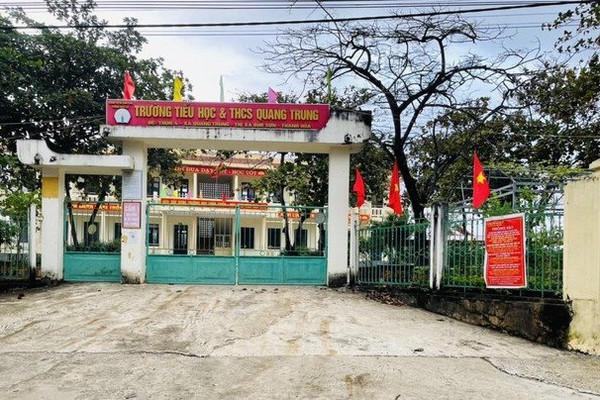 Thanh Hóa: Hơn 15.000 học sinh ở thị xã Bỉm Sơn tạm dừng tới trường