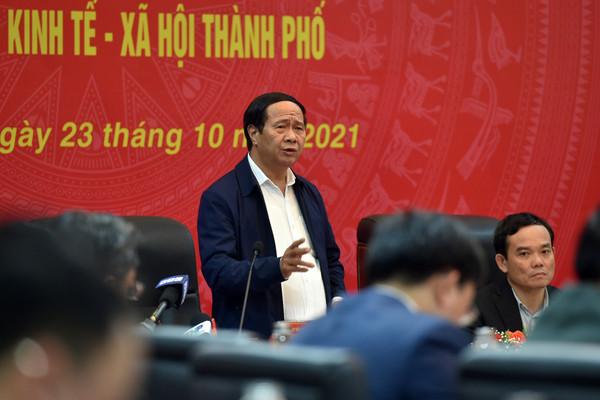 Phó Thủ tướng Lê Văn Thành: Hải Phòng cần bước phát triển mạnh mẽ hơn