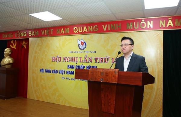 Tổng Biên tập Báo Nhân Dân Lê Quốc Minh giữ chức Chủ tịch Hội Nhà báo Việt Nam