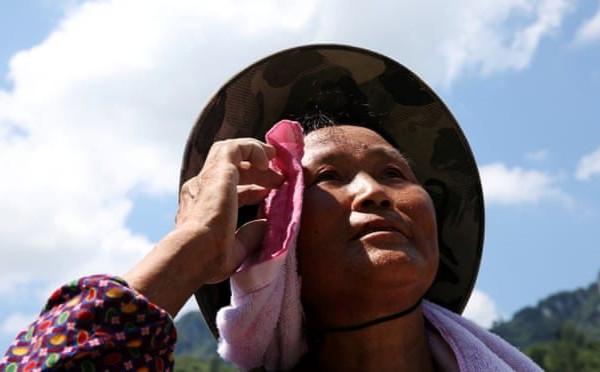 Hàng triệu người châu Á phải di tản do nắng nóng kỷ lục