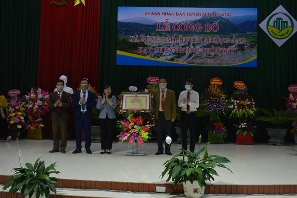 Điện Biên: Công nhận xã Búng Lao đạt chuẩn nông thôn mới